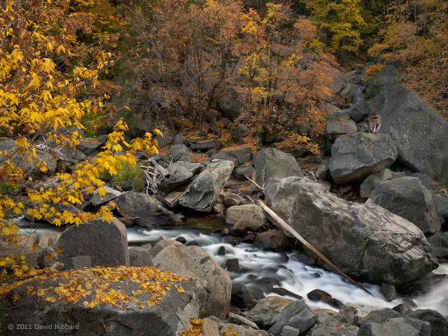 Boulders and Stream - © 2011 David Hibbard