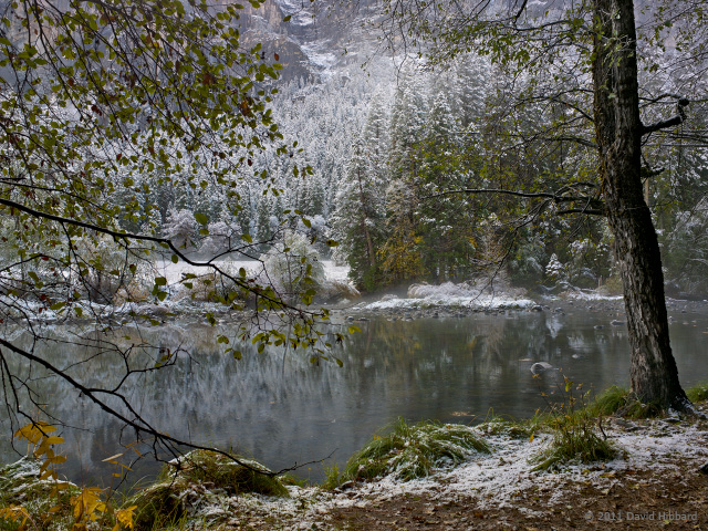 Winter River 1 - © 2011 David Hibbard