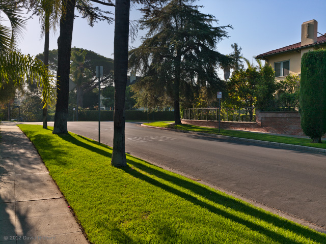 Morning Light - 1st Street - © 2012 David Hibbard