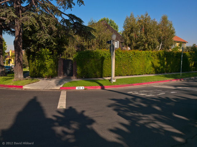 Morning Shadows - Plymouth Blvd. - © 2012 David Hibbard