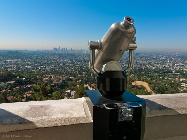 Griffith Observatory 1 - © 2012 David Hibbard