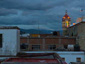Night Descends on the Mesoamerican City