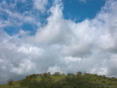 Rising Clouds, Mount Hamilton