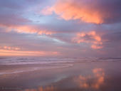 Salmon Clouds, Pescadero Beach