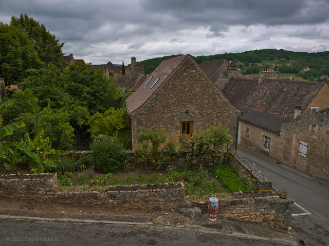 Homes and Gardens, Domme - © 2011 David Hibbard