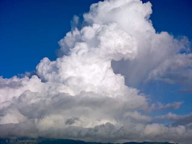 Thunderhead over the Interior - © 2011 David Hibbard